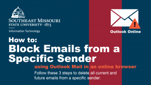 How To: Block Emails from a Specific Sender