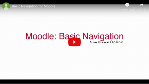 Basic Navigation for Moodle